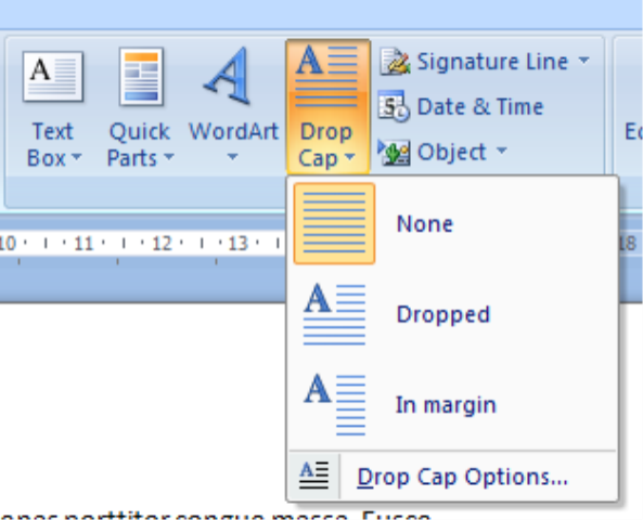 how to change text to small caps in word 2013